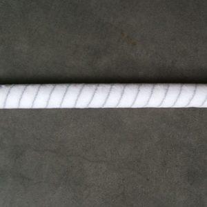 Nylonroller 50 cm grijze draad