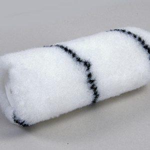 Nylonroller 12 cm zwarte draad